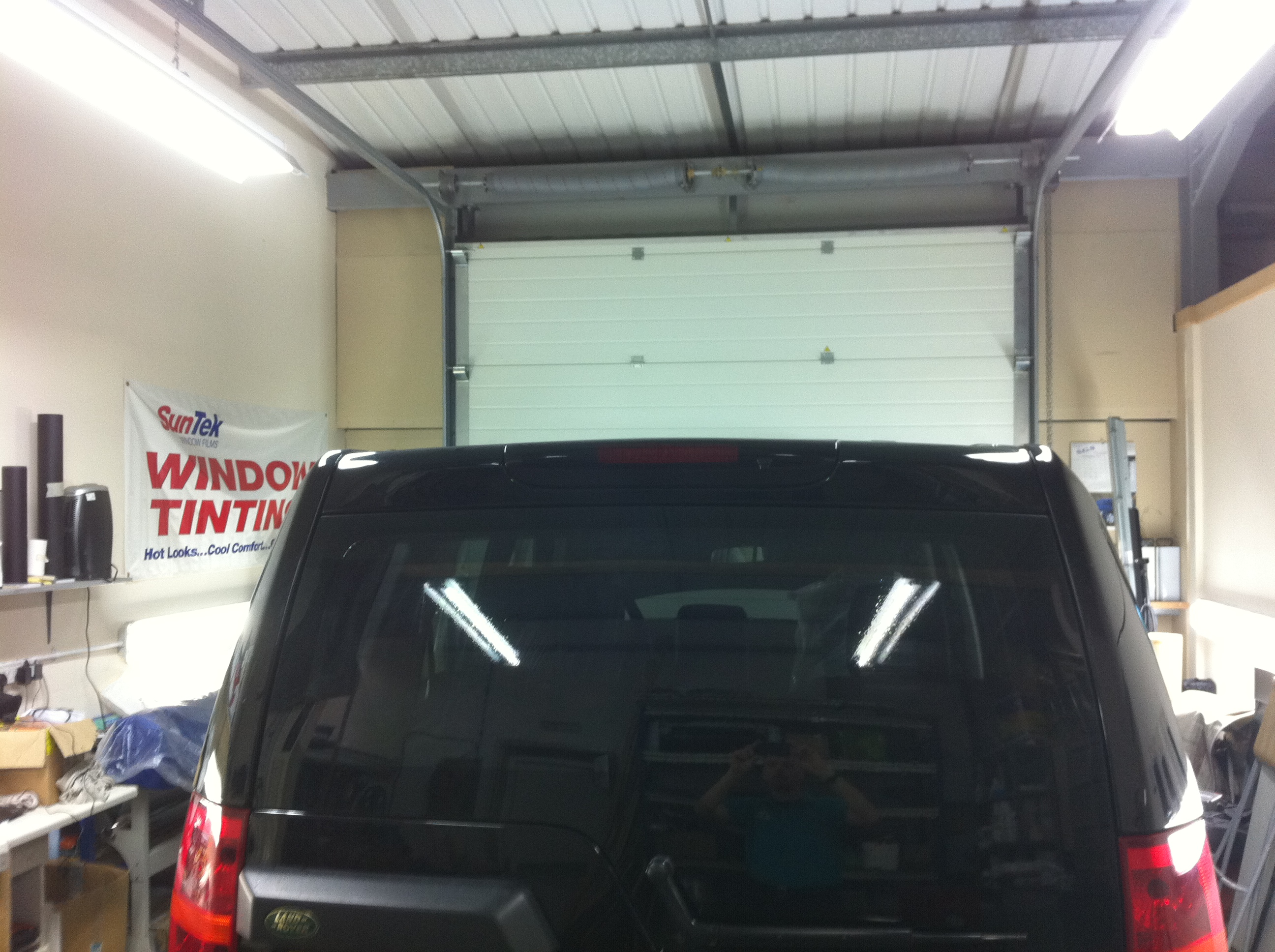 Landrover Window Tinting