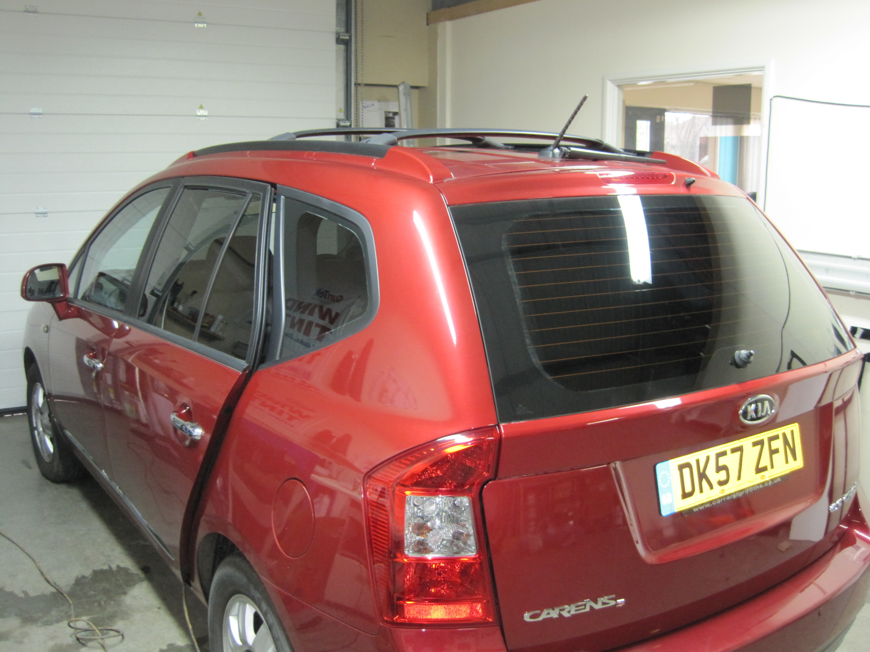 4x4 WIndow Tints