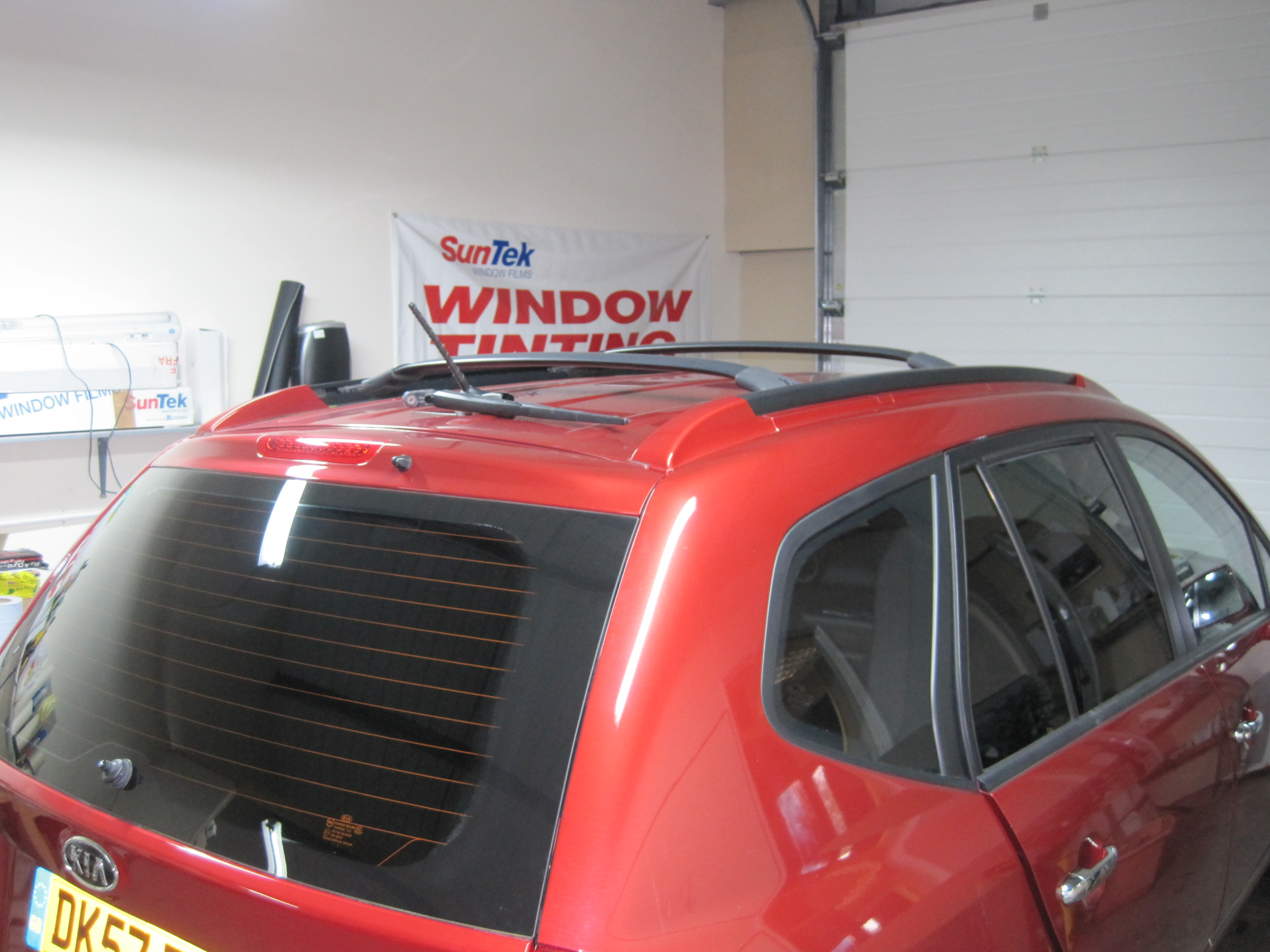 $x4 Window Tinting Film Fitted