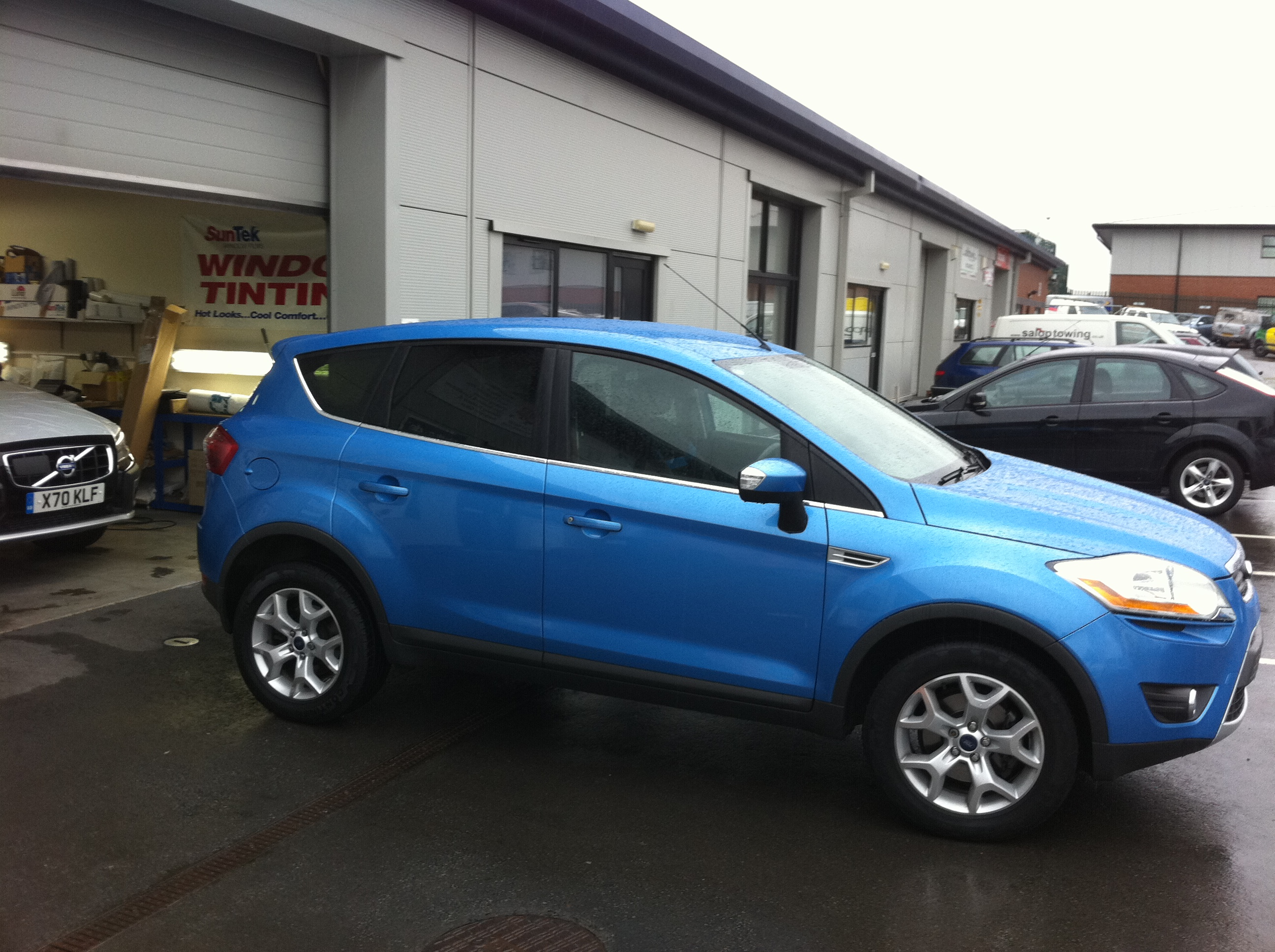 iFord Kuga With Window Tints
