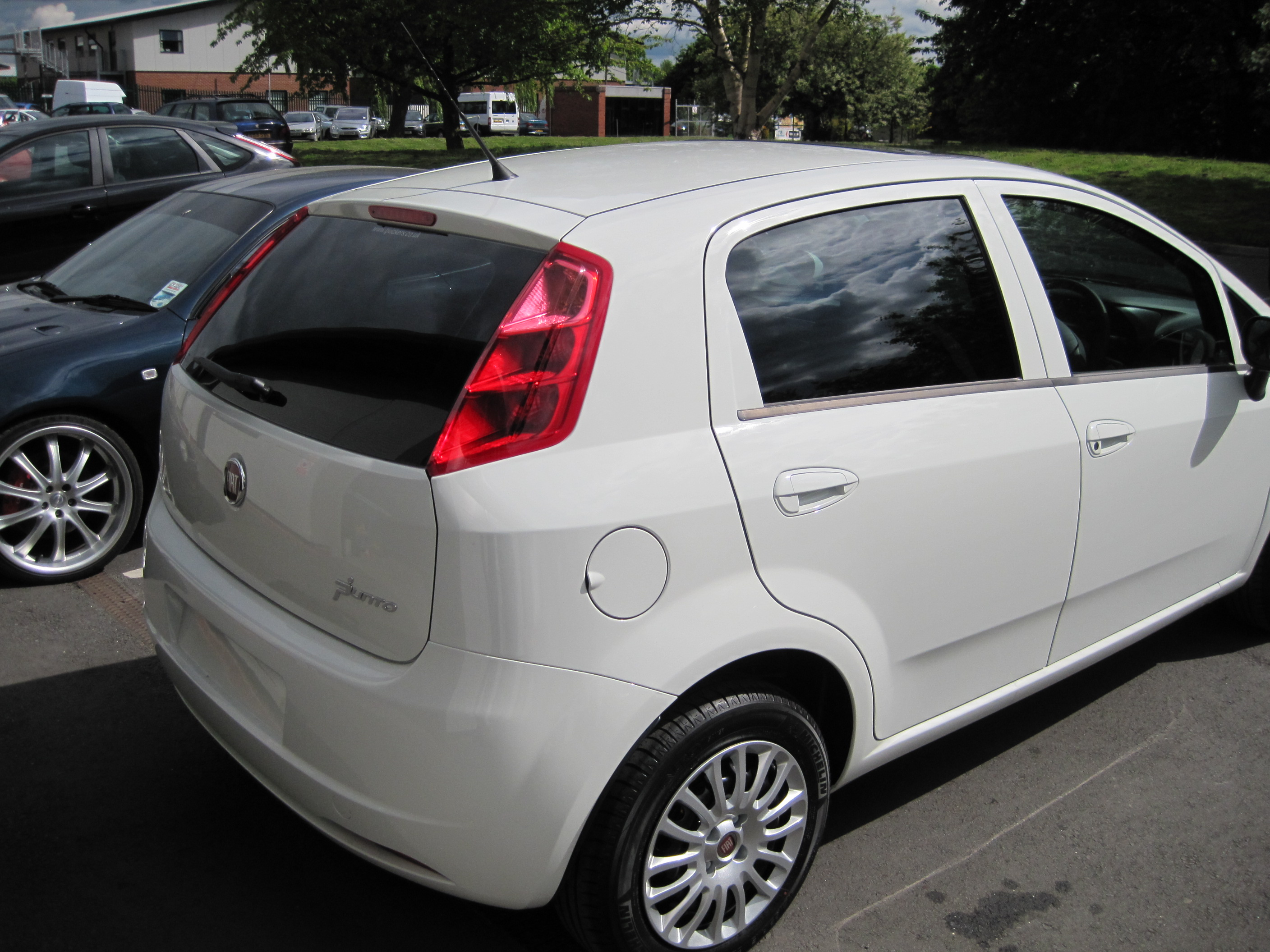 Fiat Punto Windows Tinted