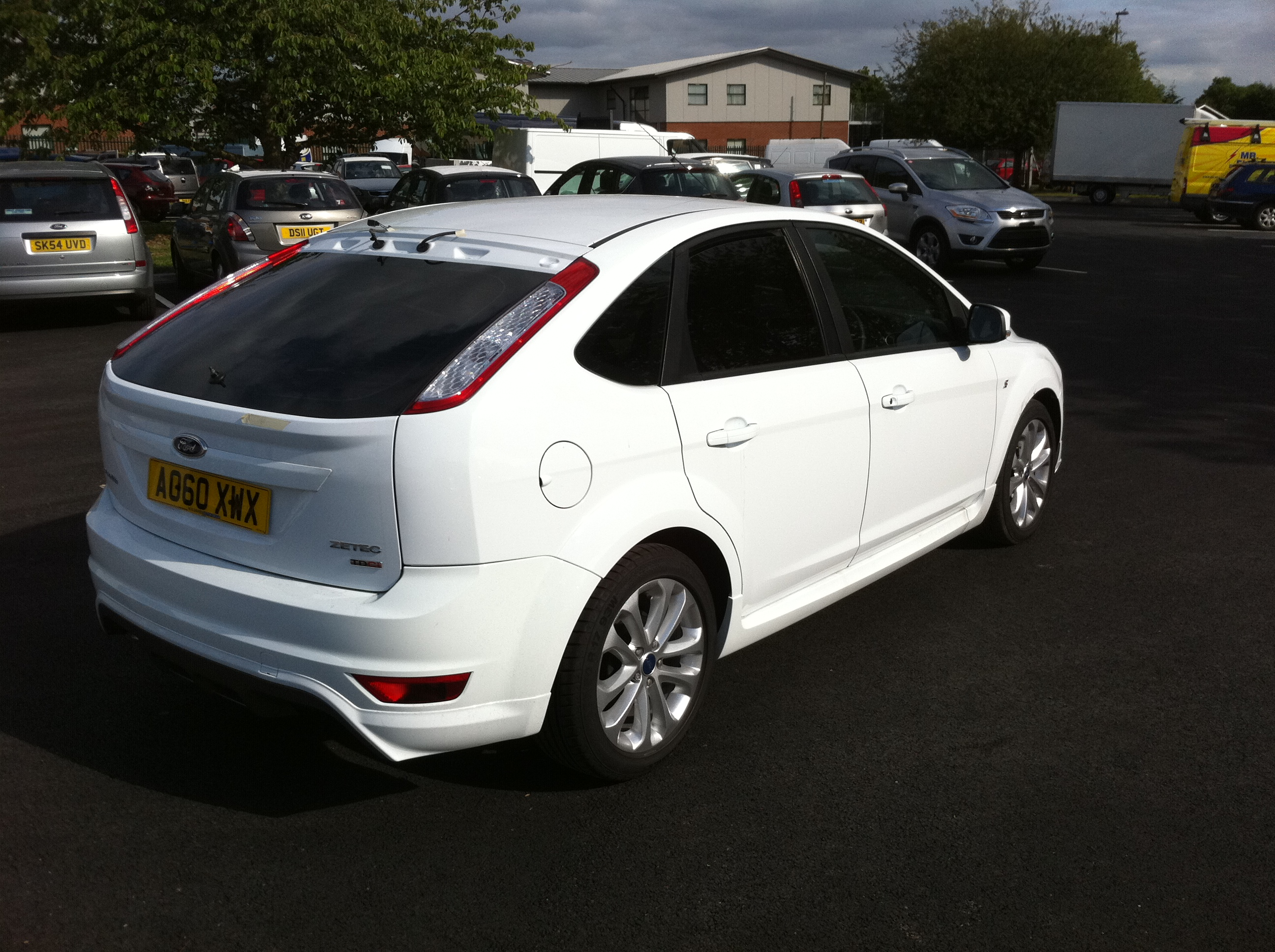 Ford Focus Window Tint