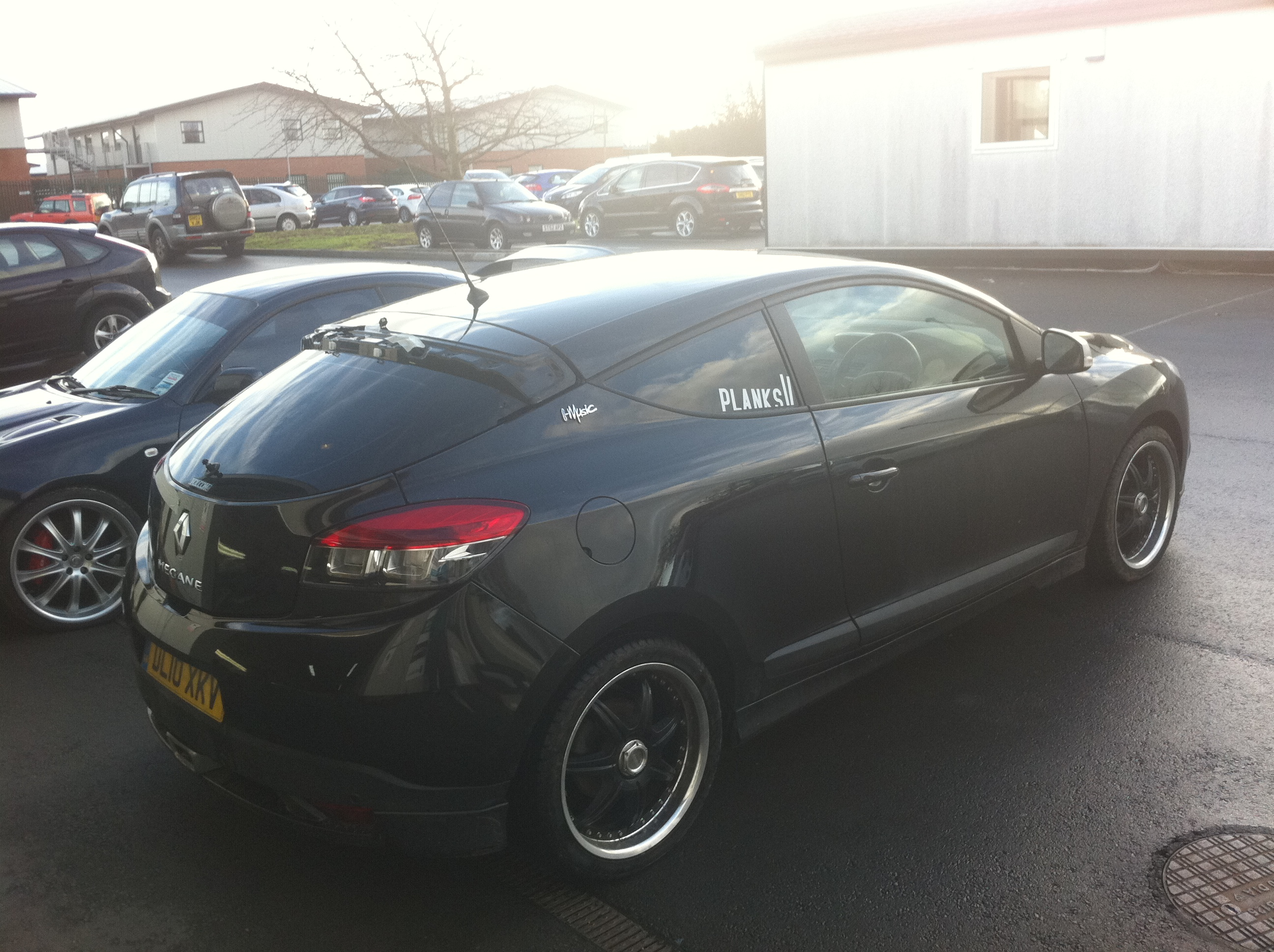 Renault Megane Window Tints