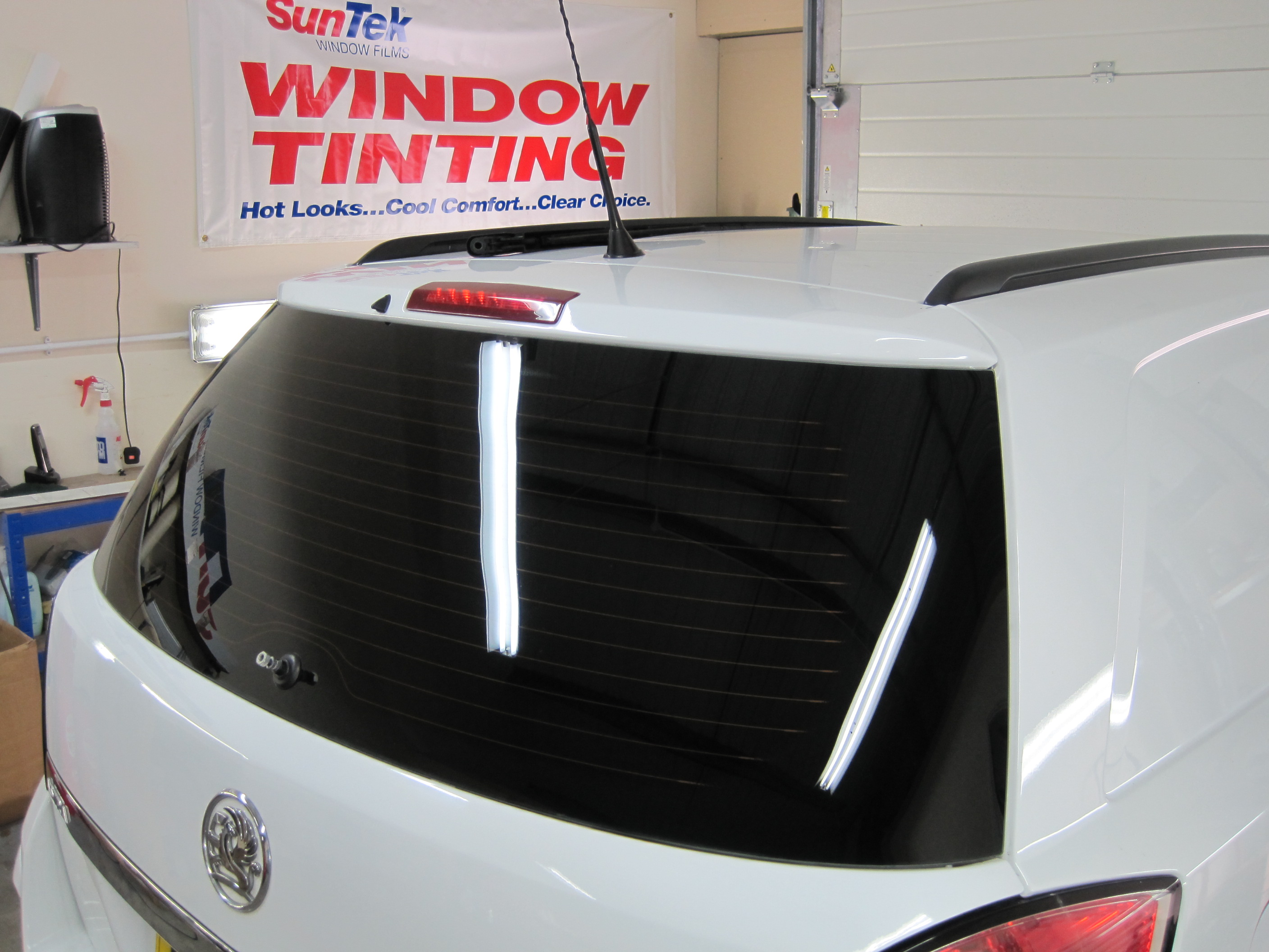 Astra Van Rear Window Tints