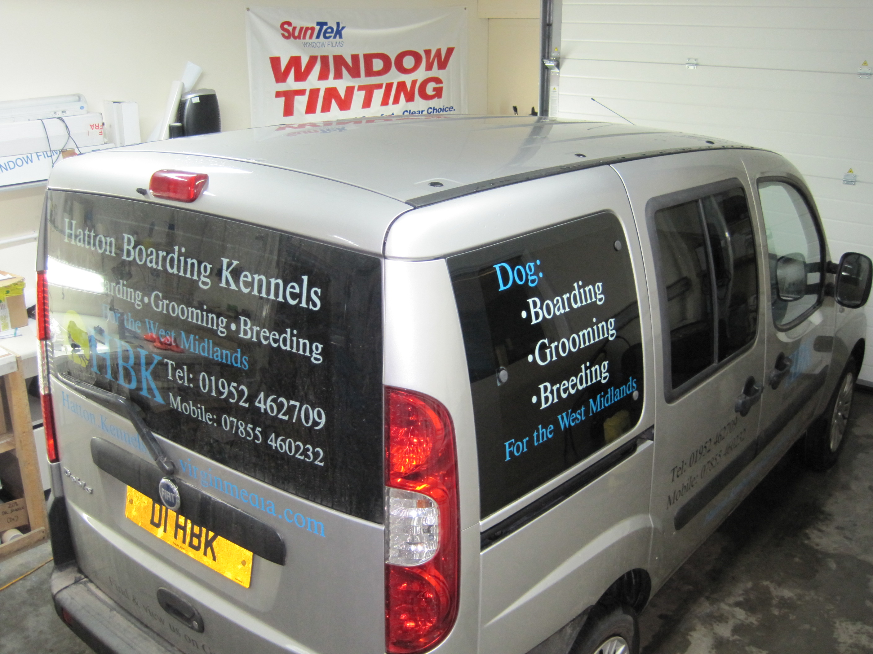 Fiat Window Tinting