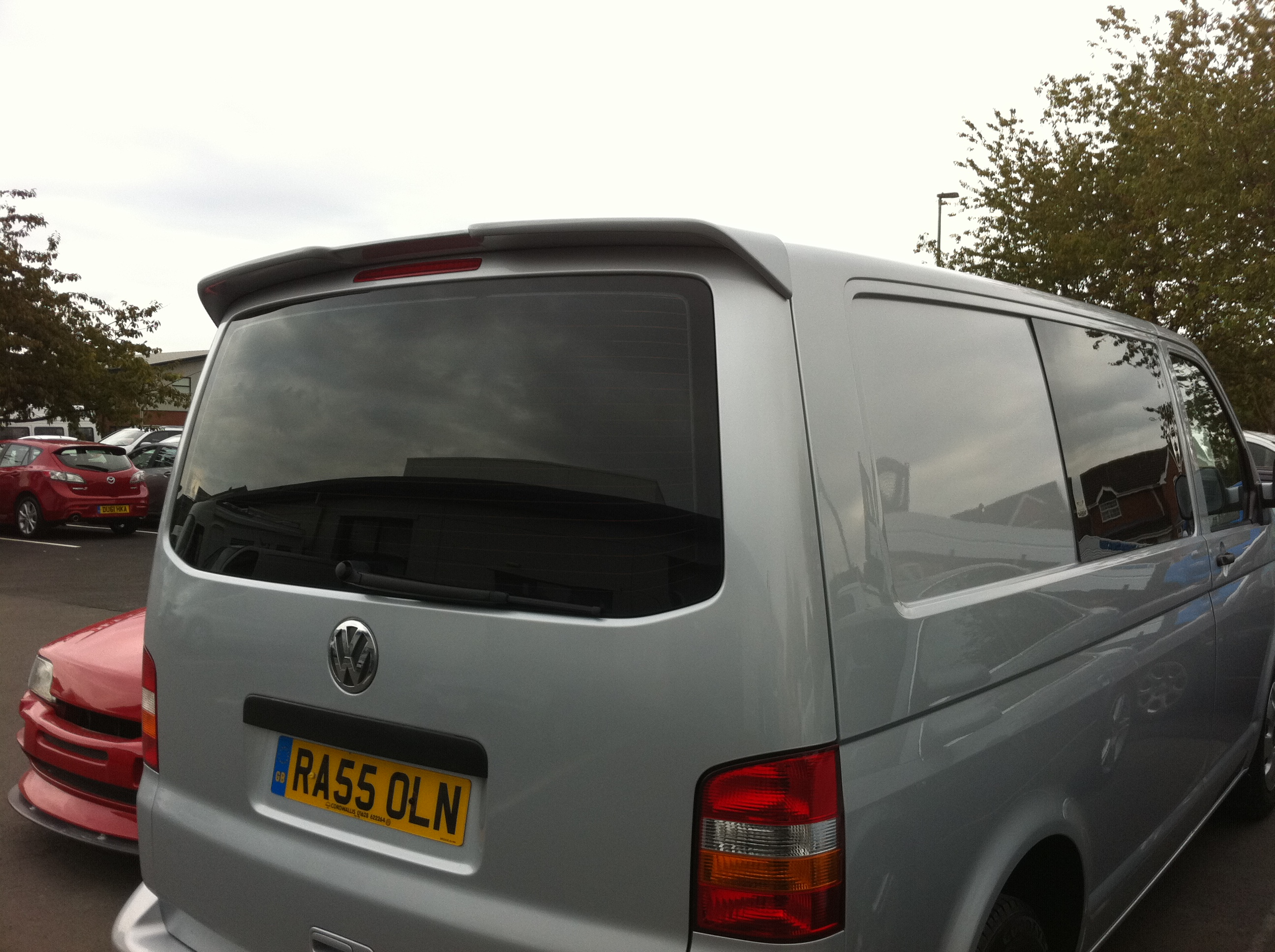 Volkswagen transporter Window Tinting