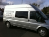 Ford Transit Side Windows Tinted