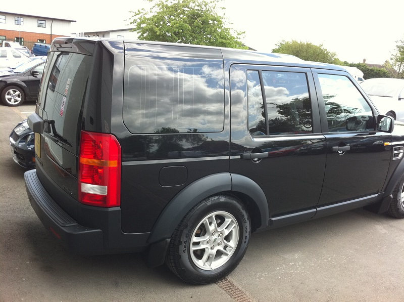 Landrover Discovery Window Tint