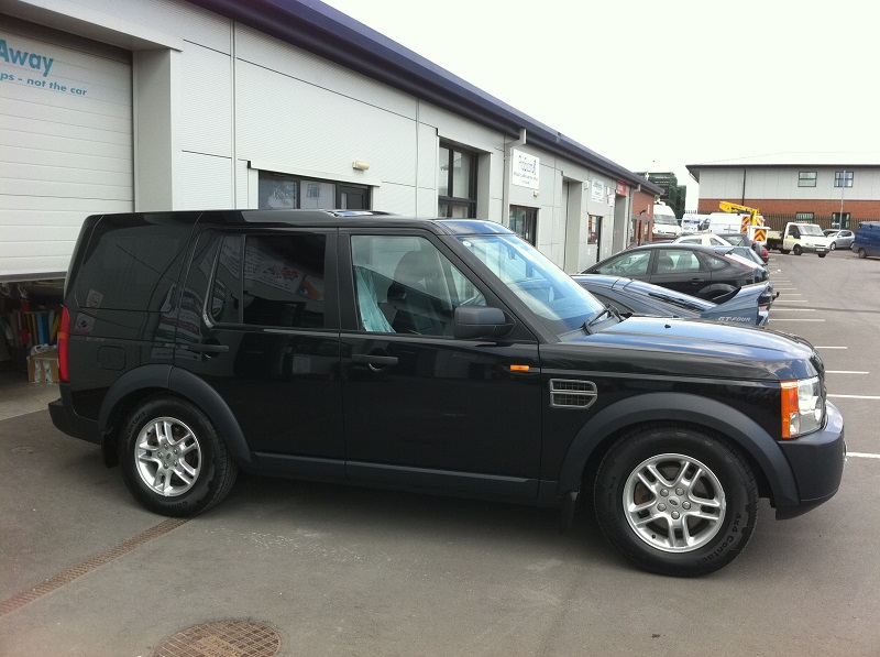 Landrover Dicovery Windows Tinted By Ace Car Care Shrewsbury