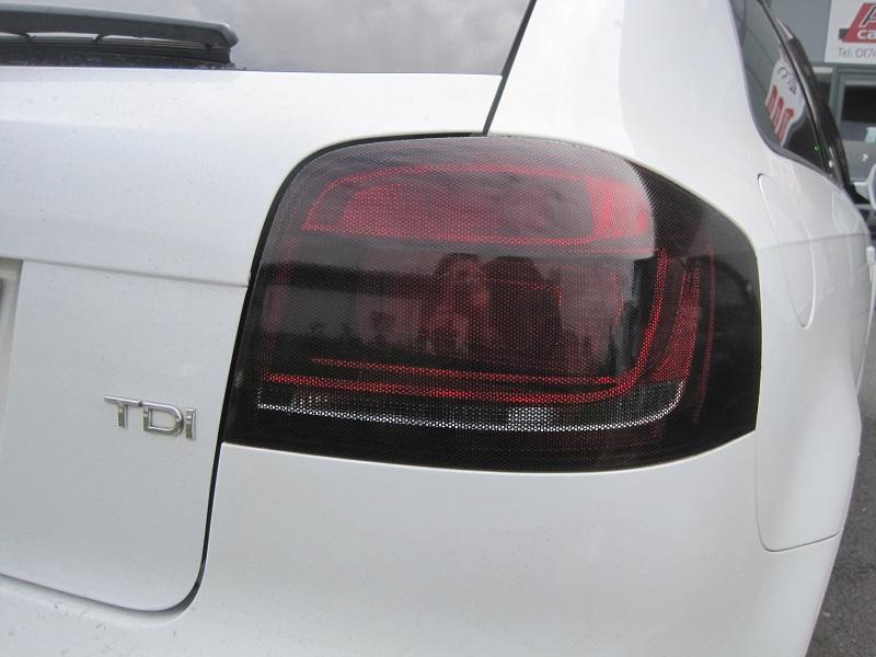 Audi Smoked Rear Lights