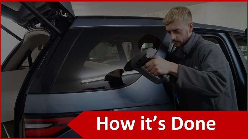 How We Tint Car Windows