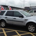 Land Rover Window Tinting Examples