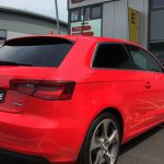 Audi Hatchback Window Tinting Examples