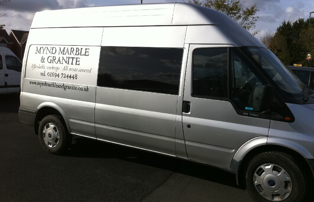Van Window Tinting Examples Ford Transit