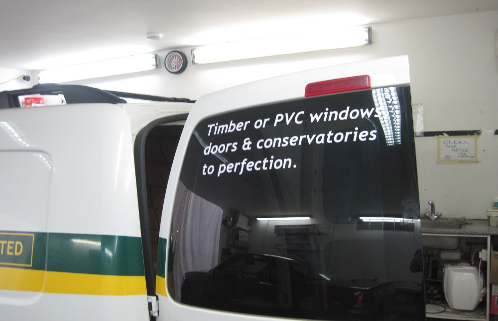 Security Van Window Tinting