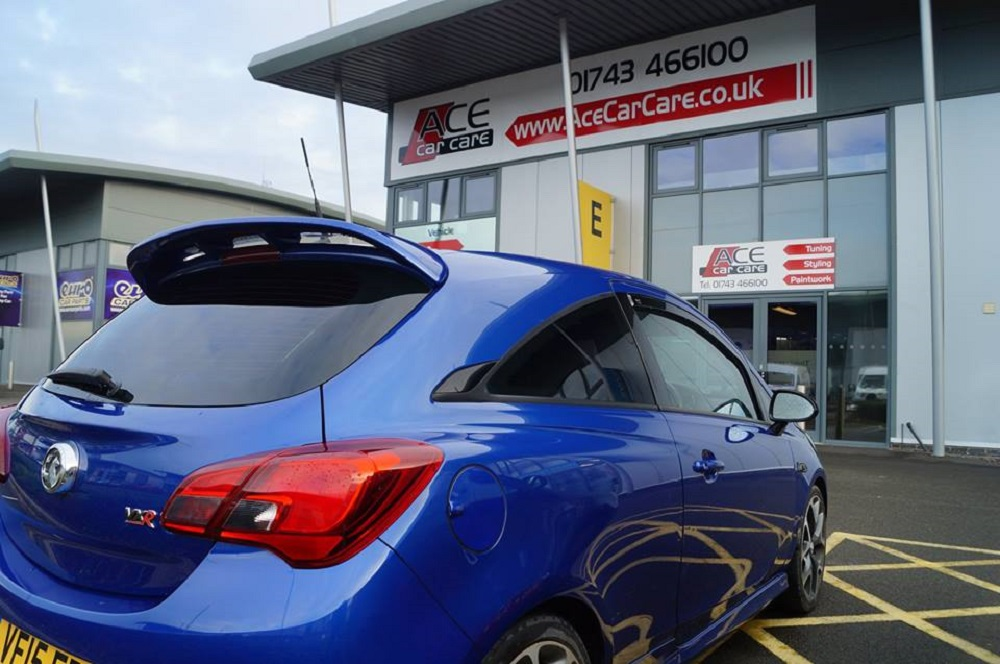 Window Tint Examples Corsa VXR