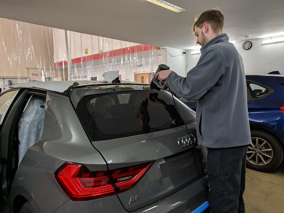 Audi Privacy Window Tint