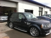 Range Rover With Tinted Glass Film