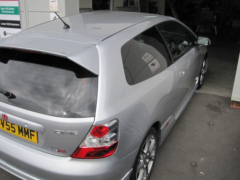 Honda Civic Limo Tints