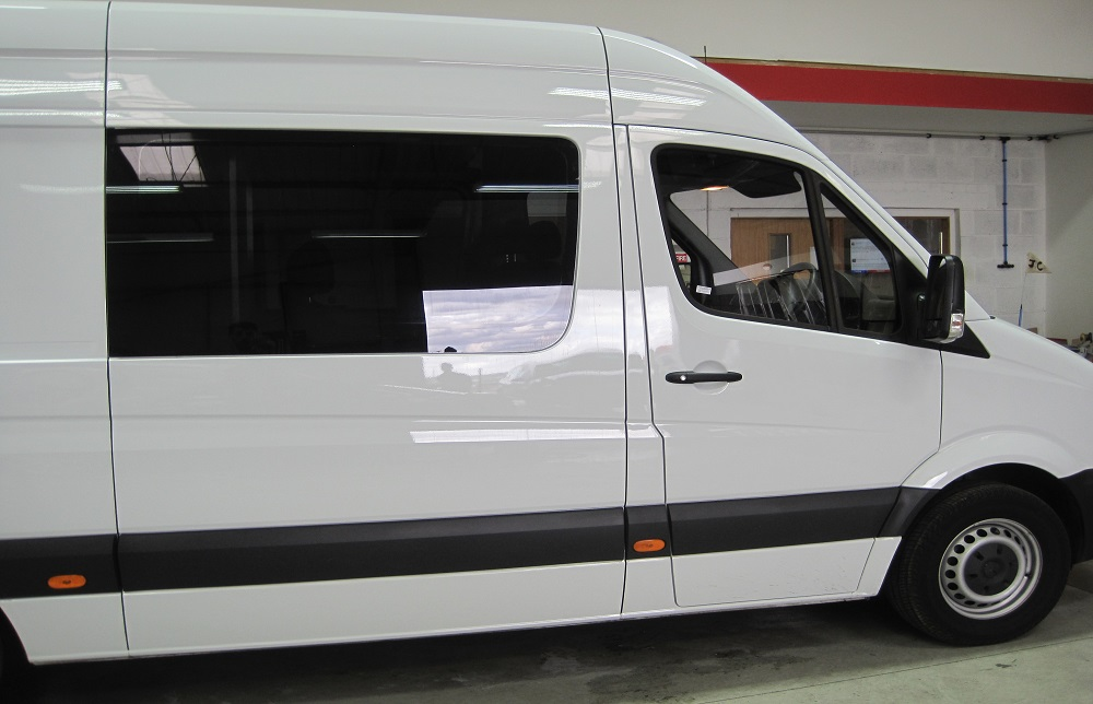 Mercedes Vito Van Window Tinting For Safety