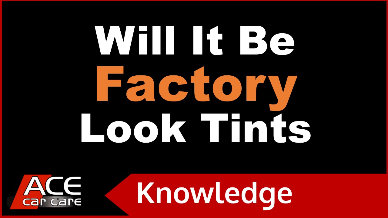 Car Tinting Knowledge Centre Video Factory Look Tints