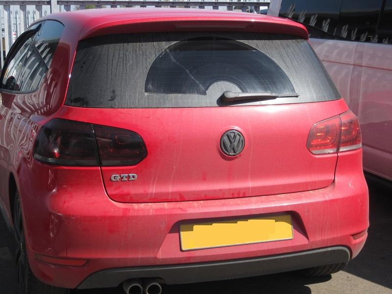 VW Golf Tinted Rear Lights
