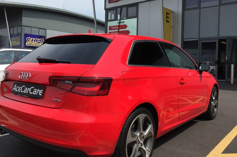 Audi Hatchback Window Tinting Examples