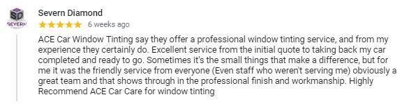 Window Tinting Reviews