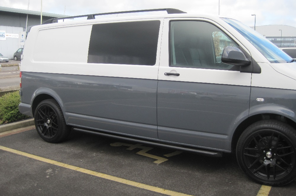 VW Camper Window Tinting Privacy