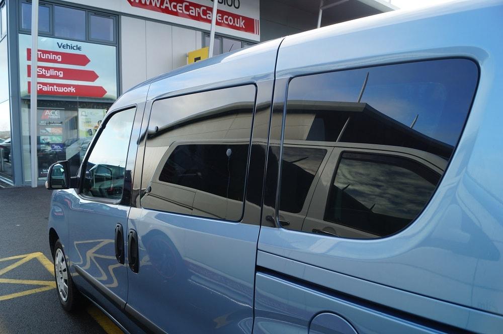 Fiat Multipla Window Tinting Benefits