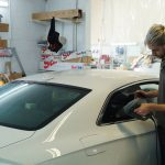 Audi Coupe Window Tinting Examples