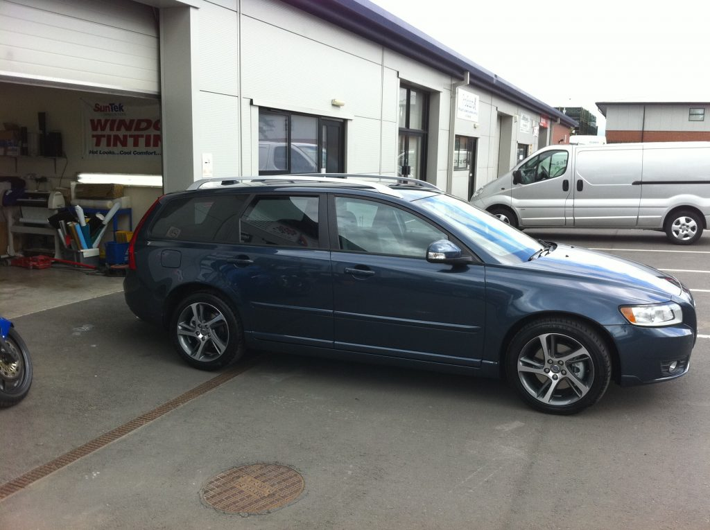 Volvo Estate Window Tinting Examples