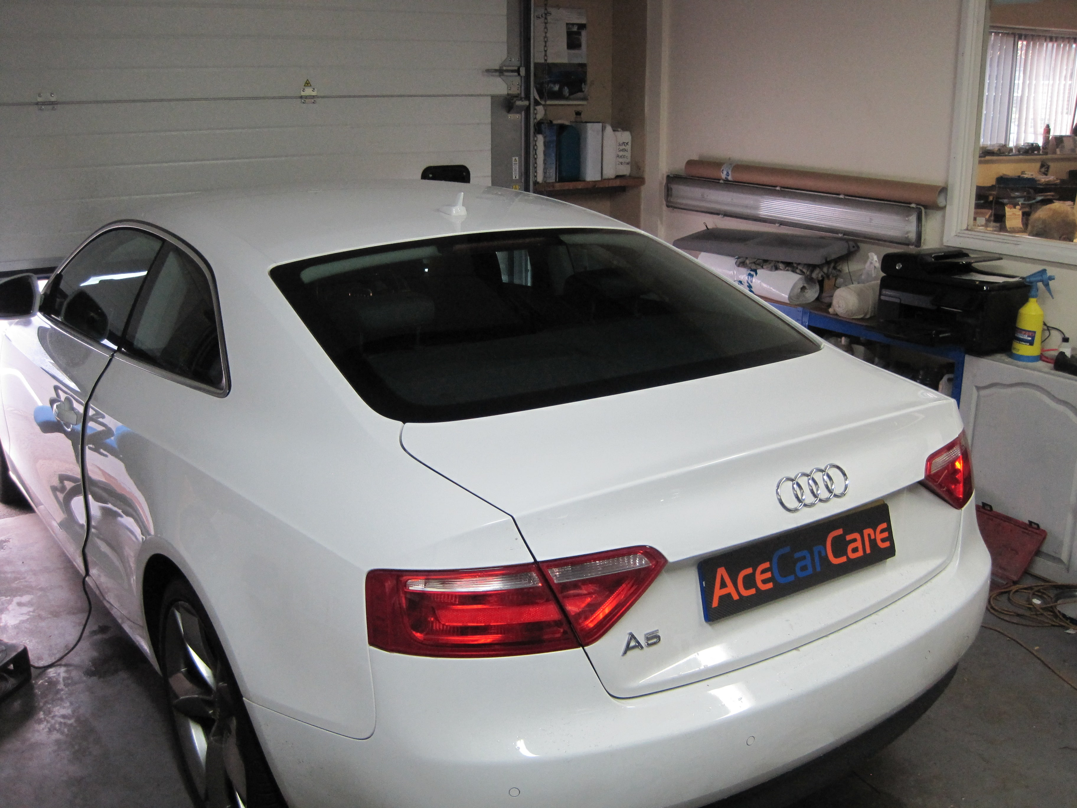 Saloon & Coupe Audi Window Tinting Examples