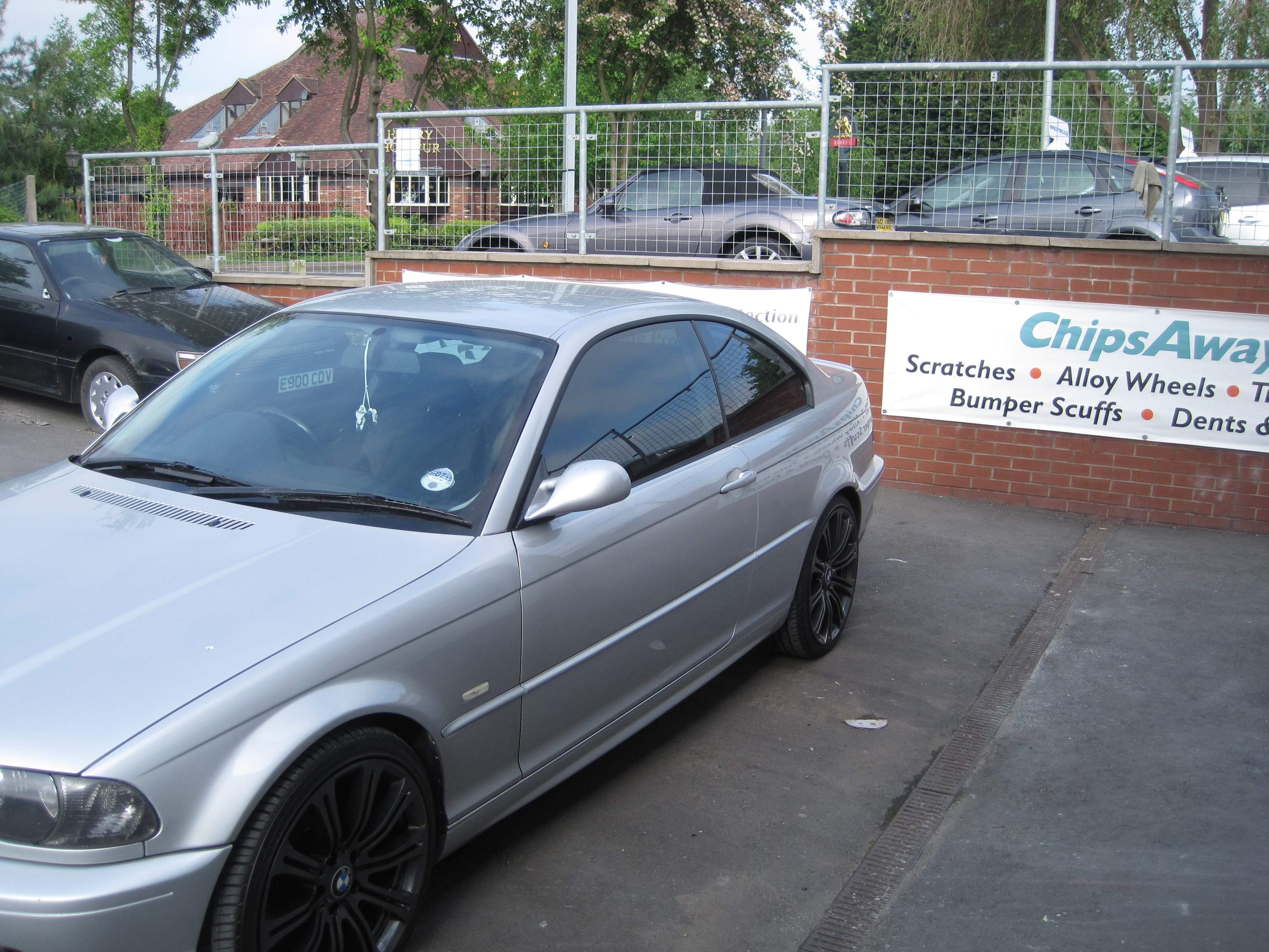 BMW Coupe Window Tinting Examples