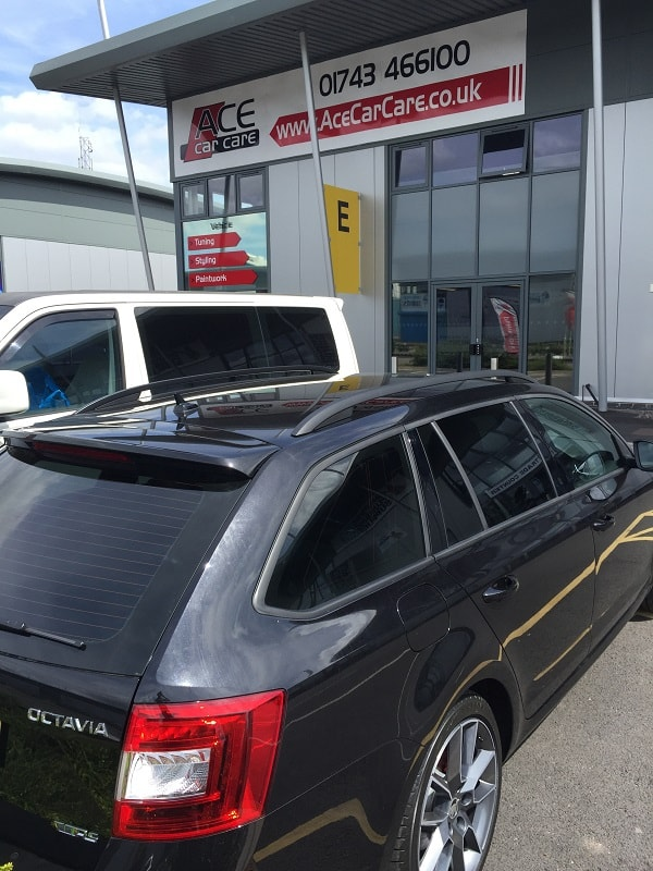 Skoda Estate Window Tinting Examples