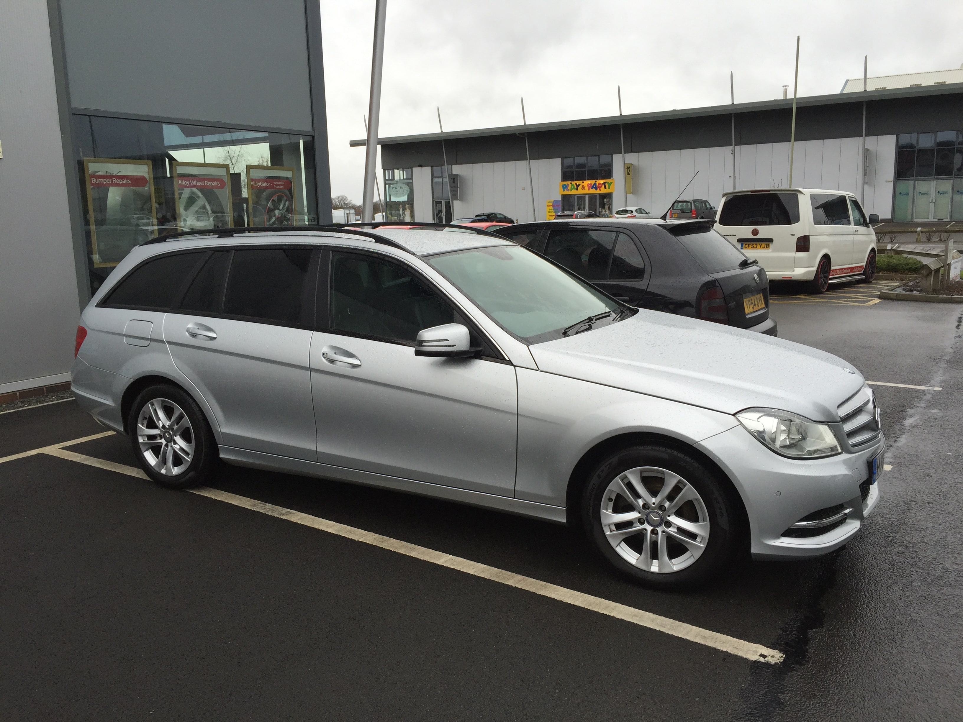 Mercedes Estate Window Tinting Examples
